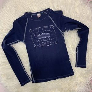 Lucky Brand Woman's Long Sleeved T-Shirt Sz S